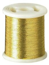 Clover Kantan Couture Bead Embroidery Tool Thread - Gold