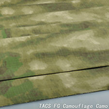 "A-tacs FG Camouflage Cotton Blend Army 60""w Fabric Cloth for Military Uniform"