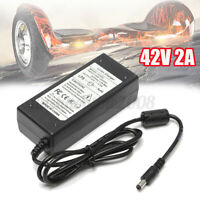 42V 2A Chargeur Pr Self Balance Scooter Trottinette 36V Li-ion Batterie Lithium