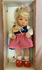 Kathe Kruse Blonde Girl Doll 25H MIB Made in Germany Tagged