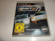 PLAYSTATION 3 PS 3 SHIFT 2 Unleashed-Limited Edition