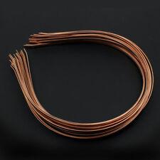HAARREIFEN 20 Stück Haarreif Haarband Kopfschmuck KupferFARBE 3mm - p00975x2