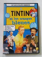DVD TINTIN ET LES ORANGES BLEUES - Jean Pierre TALBOT / Jean BOUISE