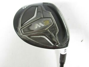 Used RH TaylorMade M2 15° 3 Fwy Wood REAX 65 Graphite Shaft Stiff S-Flex