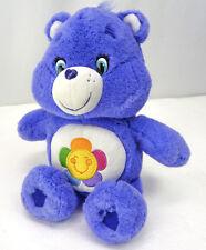 Care Bears 2015 Plush Stuffed Animals HARMONY Bear Purple Flower 2015