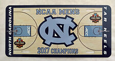 2017 NCAA Champion North Carolina Tar Heels High Gloss License Plate