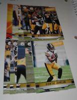 2019 Prestige Pittsburgh Steelers Team Set, Diontae Johnson RC 10 cards 3 RC