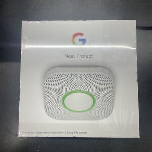Google Nest Protect Battery Smoke Carbon Monoxide Alarm New Sealed