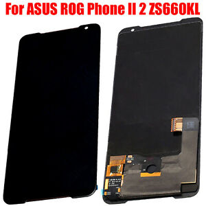 Replacement Repair Part Touch Screen LCD Display For ASUS ROG Phone II 2 ZS660KL