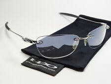 Oakley Why 8.0 Chrome Titanium Sonnenbrille Spike Square Wire Splinter Gauge 3
