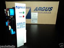 ARGUS 012-546-20 CSM33 POWER MODULE O/P: 2X137VDC 100VA - I/P: 40-60VDC