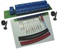 1 St. Stromverteiler Verteiler 2 Ein- 24 Ausgänge + 10 Stecker Buchsen Schrumpfs