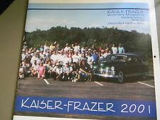 Kaiser Frazer 2001 Calendar - Excellent Condition