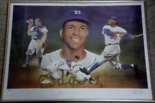 ROY CAMPANELLA Signed Christopher Paluso Lithograph COA Brooklyn Dodgers #/250