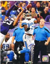 TITUS YOUNG DETROIT LIONS SIGNED PHOTO w/ COA photofile licensed