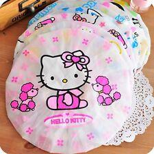 Girl Lady Women Children Kid Cute Hello Kitty 1pc Shower Bath waterproof cap hat