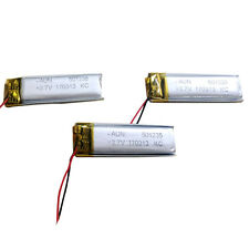 501235 150MAH 3.7V Rechargeable Li-ion Battery For Bluetooth Smart Wrist Watch
