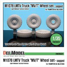 """DEF. modello, DW35031, M1078 LMTV camion """"MV/T"""" eccesso set Ruota (Trombettista), 1/35"""