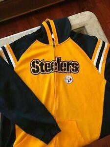 Pittsburgh Steelers Reebok Zip-Up Jacket, XL