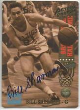 BILL SHARMAN Autographed Signed 1993 Action Packed HOF card Boston Celtics COA