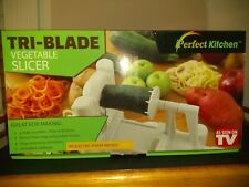 Tri-Blade Vegetable Slicer As Seen on TV iPerfect Kitchen Brand New