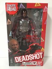 IN HAND BRAND NEW Bandai S.H.Figuarts SUICIDE SQUAD DEADSHOT WILL SMITH USSELLER