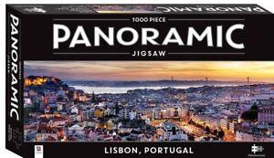 Mindbogglers Panoramic 1000 piece Jigsaw PuzzleLISBON PORTUGAL New & Sealed