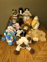 Webkinz By Ganz Lot Of 16 In Played With Condition No Codes!