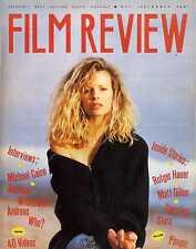 FILM REVIEW MAGAZINE 1987 MAY KIM BASINGER, RUTGER HAUER, ANDREAS WISNIEW2SKI