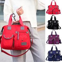 Women Nylon Shoulder Bags Waterproof Messenger Bag Large Capacity Crossbody Bags