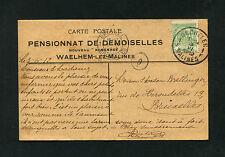 Belgien - Firmen Karte von 1912    (J-K4)
