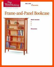 Fine Woodworking's Frame-And-Panel Bookcase Plan by Fine Woodworking Magazine...