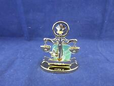 Crystocraft Libra the Scales Sculpture with Strass Swarovski Crystals.