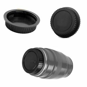 New Black Rear Lens Cap Cover Protector for Canon Rebel EOS EFS EF EF-S DSLR SLR