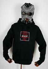 Huf Worldwide Skateboard Pant Pants Trousers Wild Flowers 2 Fleece Black in M 32