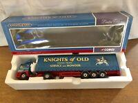 Corgi CC75405 Leyland DAF Curtainside Knights Of Old. 1/50