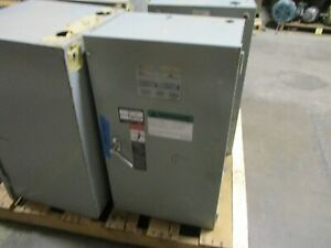 Asco Automatic Transfer Switch D00300030104N10C 104A 480V 60Hz Used
