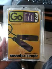 GoFit Speed Jump Rope exercise that clicks open package great condition