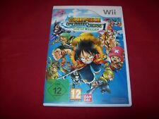 One Piece: Unlimited Cruise 1 (Nintendo Wii, 2009, DVD-Box) Gebraucht