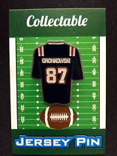 New England Patriots Rob Gronkowski lapel pin-GRONK Collectable-#1 Best Seller