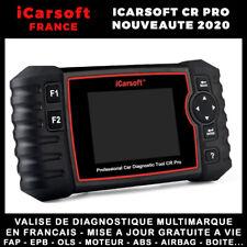 iCarsoft CR PRO 2020 - Valise Diagnostique Multimarque Pro tout système en FR