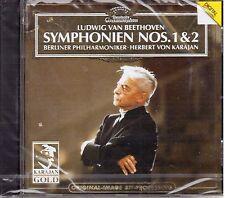 BEETHOVEN - SINFONIE N.1 & 2 VON KARAJAN, BERLINER PHILHARMONIKER -  CD
