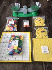New Saxon Math Manipulatives, Early Elementary Lot Homeschool