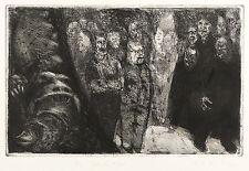 Sighard Gille-I DRAGHI-ACQUAFORTE 1983