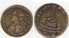 Jeton en bronze  Louis XVI Roi de France