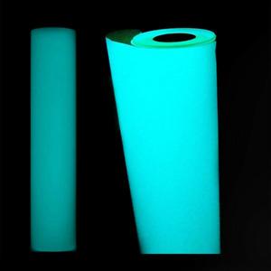 UK Glow In The Dark T-shirt Vinyl HTV Heat Press Transfer Fluorescence Blue New