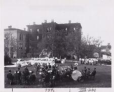FRANCES BENJAMIN JOHNSTON Tuskegee Institute Alabama Band Sings 1903 press photo
