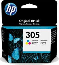 Original HP 305 Colour Ink Cartridge 3YM60AE for Deskjet 2710 272 ENVY 6000