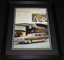 1967 Lincoln Mercury Colony Park 11x14 Framed ORIGINAL Advertisement