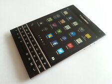 BLACKBERRY PASSPORT 32GB BLACK TOP+VIELE EXTRAS+RECHNUNG+DHL VERSAND